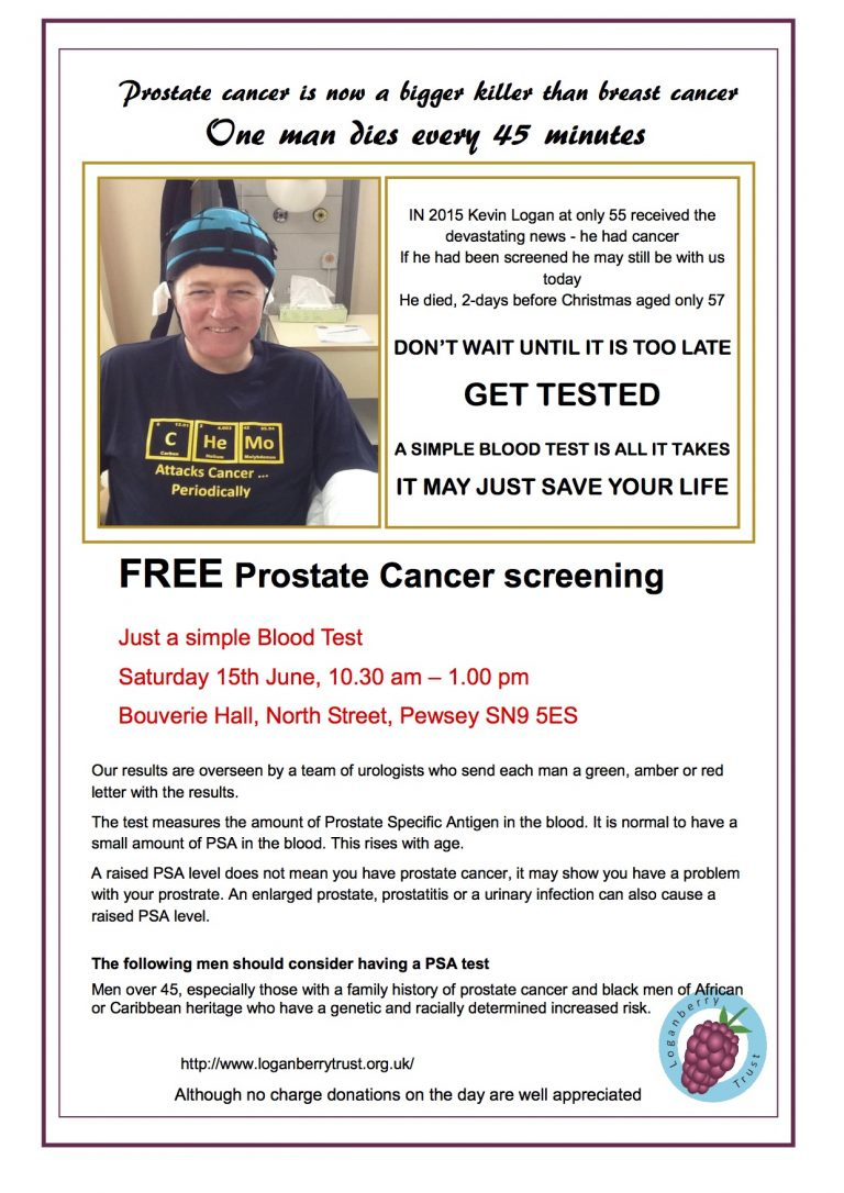 A4 flyer - Pewsey 15th June 2019