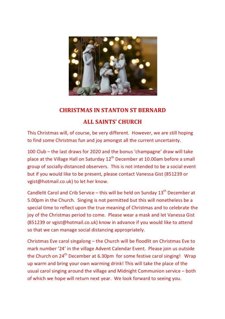 Church Christmas Services 2020