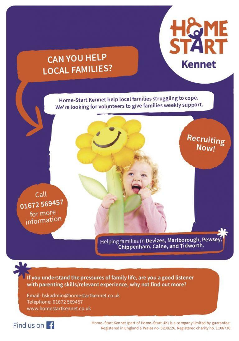 Home Start Kennet Poster Oct19 A5