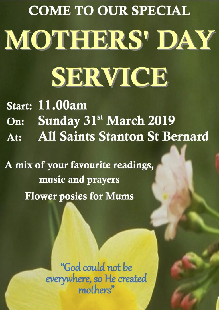 Mothering Sunday poster 2019-1